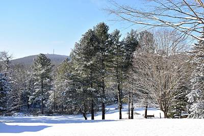 Photograph - Snowy Day In Ct 1 by Nina Kindred