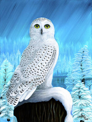 Painting - Snowy Delight by Rebecca Parker