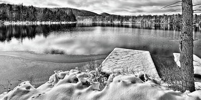 Photograph - Snowy Dock by David Patterson