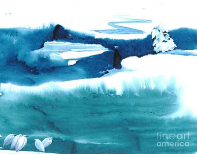Snowy Egrets Art Print by Mui-Joo Wee
