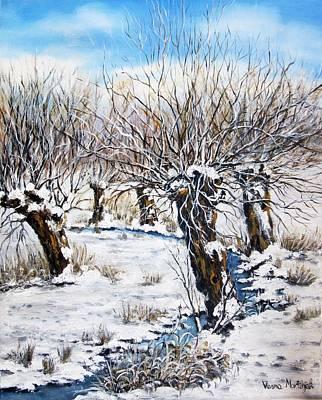 Painting - Snowy Empire by Vesna Martinjak