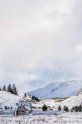 Photograph - Snowy Glen Shiel by Neil Alexander