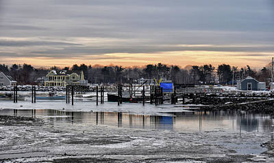 Photograph - Snowy Harbor by Tricia Marchlik