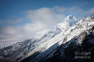 Photograph - Snowy Himalayas by Scott Kemper