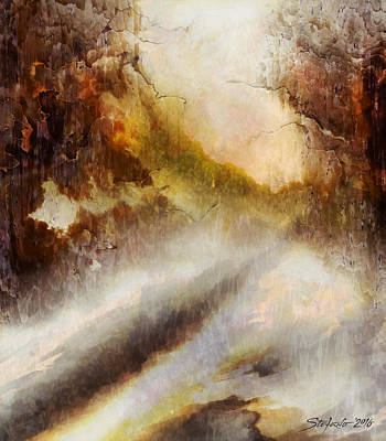 Painting - Snowy Impression by Stefano Popovski
