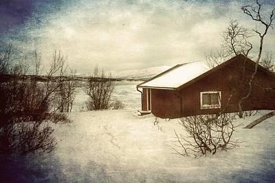 Photograph - Snowy Landscape by Vittorio Chiampan
