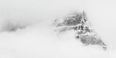 Photograph - Snowy Mountain by Brad Allen Fine Art