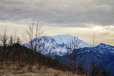 Photograph - Snowy Mountain by Michael Scott