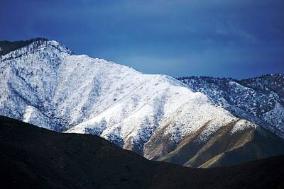Photograph - Snowy Mountain Ridge View by Matt Harang