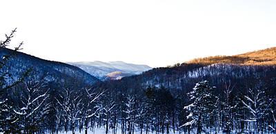 Photograph - Snowy Mountain Sunrise by Jonny D