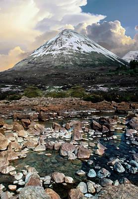 Photograph - Snowy Mountains Of Isle Of Skye by Jaroslaw Blaminsky