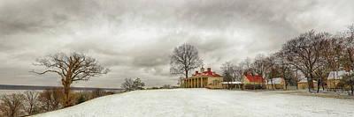 Photograph - Snowy Mt Vernon by Jack Nevitt