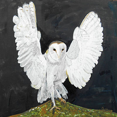Painting - Snowy Owl by Christine Lathrop