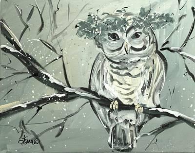 Painting - Snowy Owl by Terri Einer