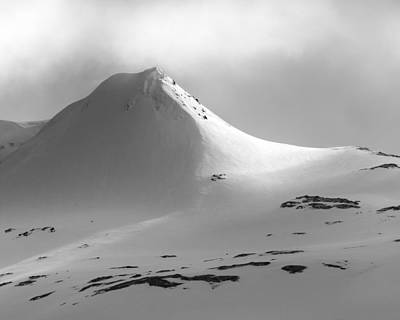 Photograph - Snowy Peak Over Grundarfjordur by Glen Sumner