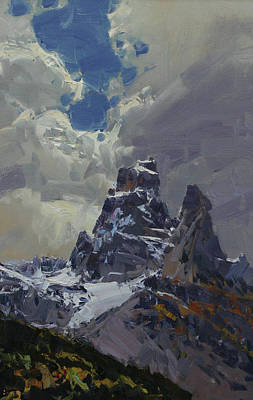 Snowy Peaks Original by Alexander Babich