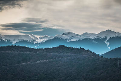 Photograph - Snowy Peaks Of Pirin Moountain by Jivko Nakev