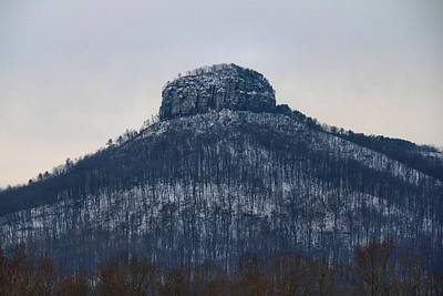 Photograph - Snowy Pilot Mtn by Kathryn Meyer