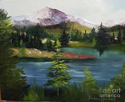 Painting - Snowy Range by Barbara Haviland