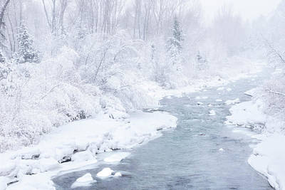 Photograph - Snowy River by Angela Moyer