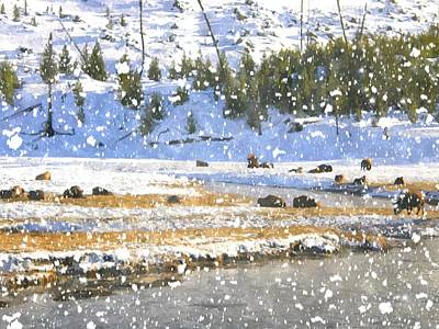 Snowy River Art Print by Image Takers Photography LLC - Carol Haddon