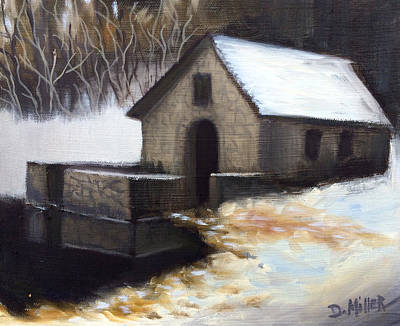 Painting - Fallen Snow by Dustin Miller