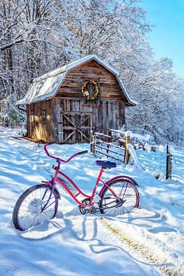 Photograph - Snowy Surprise by Debra and Dave Vanderlaan