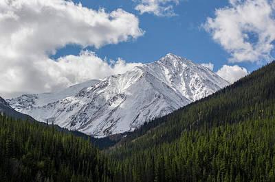 Photograph - Snowy Torreys Peak by Aaron Spong