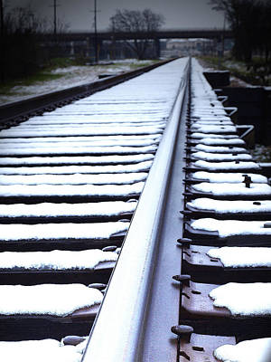 Photograph - Snowy Tracks by James Granberry