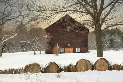 Photograph - Snowy Vermont by Lori Deiter