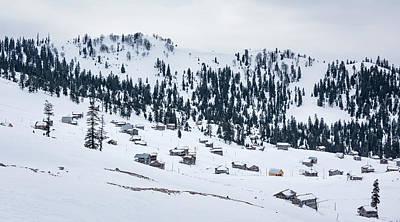 Landscape Photograph - Snowy Village by Svetlana Sewell