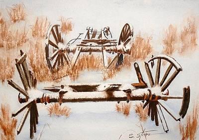 Snowy Wagon Boneyard Original