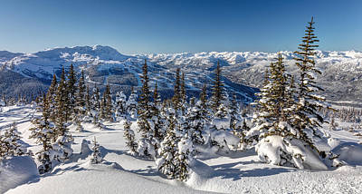 Photograph - Snowy Whistler Mountain  by Pierre Leclerc Photography