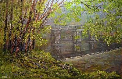 Painting - Snuff Mills by Michael Mrozik