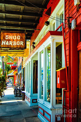 Snug Harbor Jazz Bistro- Nola Art Print by Kathleen K Parker