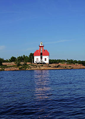 Photograph - Snug Harbour Lighthouse I by Debbie Oppermann