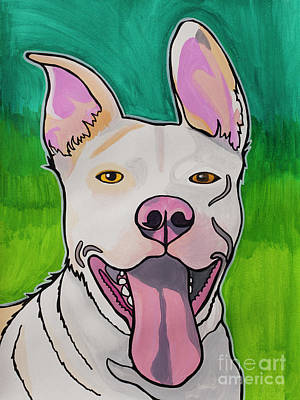 Snug The Pit Bull Original by Miabella Mojica