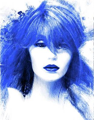 Photograph - So Blue by Alice Gipson