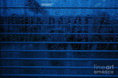 So Blue I Can Art Print by Paulette B Wright