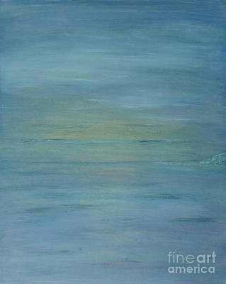Contemplative Painting - So Cal Glow by Milton Tarver