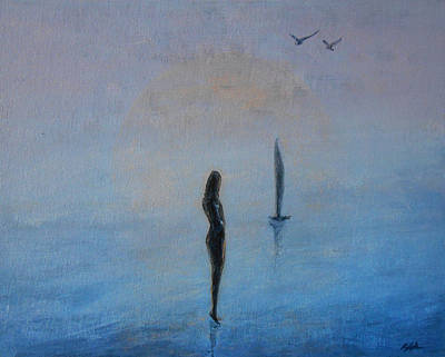 Introspection Painting - So Close by Jane See