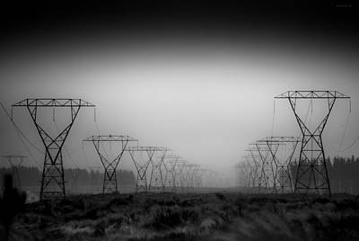 Manscape Photograph - So Damn Quiet. by Willem Lombard