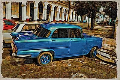 Photograph - So Havana Blue by Alice Gipson