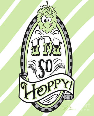 Digital Art - So Hoppy by Shari Warren