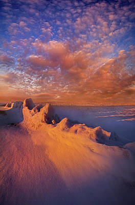 Print featuring the photograph So It Begins by Phil Koch
