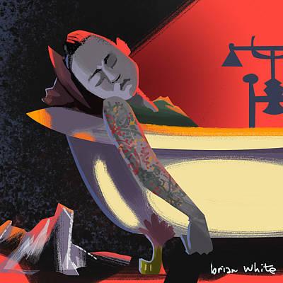 Fox Digital Art - So Long Sam by Brian White