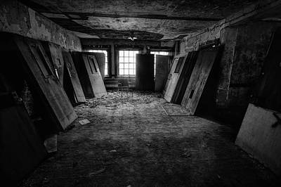 Photograph - So Many Doors, But No Exits 2 by John Hoey