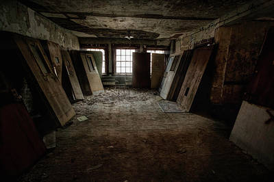 Photograph - So Many Doors, But No Exits by John Hoey