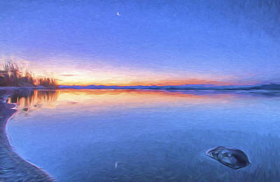 Digital Art - So Quiet II by Jon Glaser