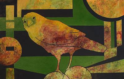 Painting - So Says The Raven by Nancy Jolley